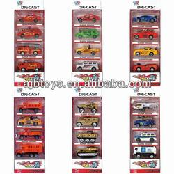 classic cars diecast model(police cars/fire truck/military cars)
