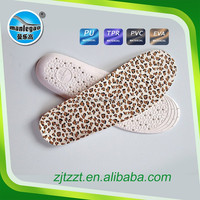 Hot selling EVA rubber foot care shoe pad shock absorb cushion foot wear sport insole PVC- 8806