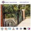 2015 The most popular gate: sliding gate track garden fence gate