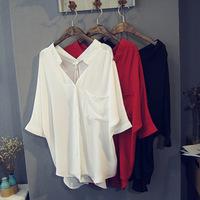 Chiffon long shirt woman shirt chiffon shirt models chiffon blouses