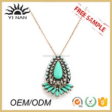 New Fashion Stone Pendant Necklace Factory Direct
