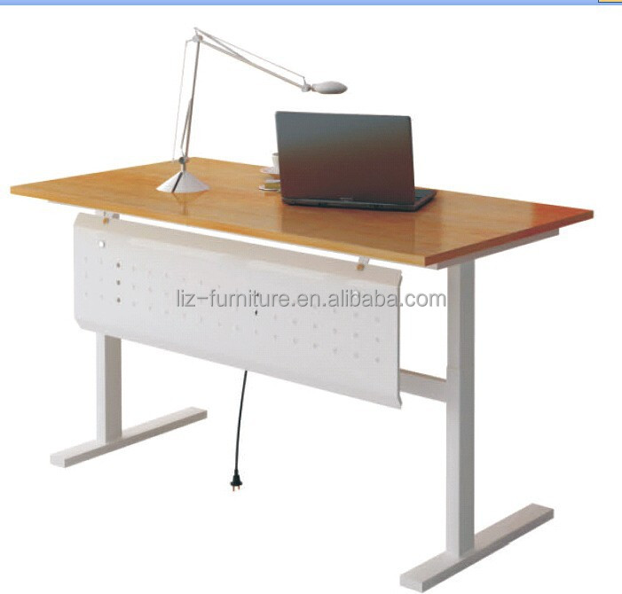 Electric Height Adjustable Desk Modern Lifting Drawing