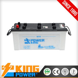 12V Japan Car Battery N120 120AH dry charged car batteries