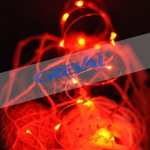 Waterproof led copper wire string lights for wedding decoration