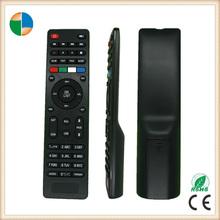China smart tv universal remote control codes with rubber button 2015 new unique design
