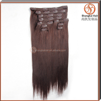 Wholesale Best Quality Double Drawn Clip In Hair Extension