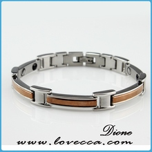 fashion stainless steel magnetic bracelet team magnetic energy bracelet