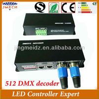 Hot RGB LED dmx controller to ws2801 decoder controller