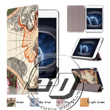 World Map Pattern Design Printed tablet case For ipad mini 4 tablet case lowest price