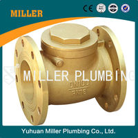 ML-1409 Forged Flanged Constant Head Check Valve Pump Brass Swing Flange Check Valve