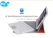 Win8 slim and folded Bluetooth Keyboard Case for 8""