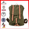 Vintage canvas backpack canvas leisure bags waxed canvas backpacks for men(ES-H369)