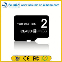 Factory supply new product original full capacity 1gb-128gb brand name memory card
