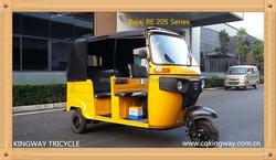 China audlt tricycle 3 wheel motorcycle bajaj re on sale