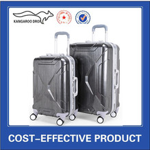 Aluminum hard ABS trolley Luggage Case