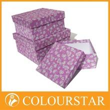High-grade gift drawer paper packaging box