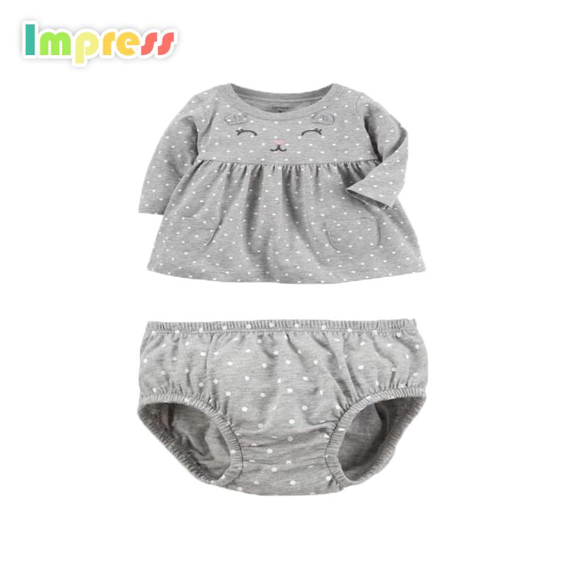 Kinder Kleidung Großhandel Sommer Baby Mädchen Carters Kleidung Shirt Shorts gesetzt