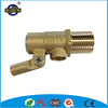 Sanitary equipment water level brass hydraulic control floating ball valve