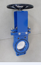 Worm Gear Operated Lug or Wafer Knife Gate Valve