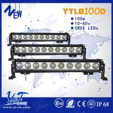 EXW price! 4x4 suv tuning parts 100w flashing led strip light offroad led roof light bar