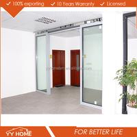 automatic door open sensor glass sliding door