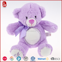 This year China sute super soft short plush wholesale teddy bears supplier