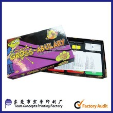 Paper Material and Advertising Poker Type paper playing cards