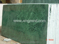Indian dark green marble, big flower green marble slab for cheap paving stone