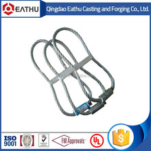 steel construction lifting loop with CE Cert.