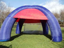 custom made inflatable tents with inflatable bottom