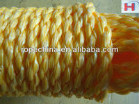 supply hollow binding rope/hollow braided poly rope