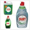 liquid dishwashing detergent / dishwashing liquid bottles