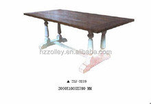Antique oak wooden dining table cheap eating tables