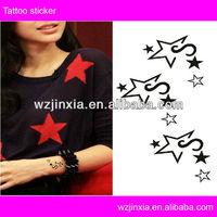 High quality fashion Star intimate female body tattoos