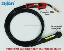 Panason 200A mig welding torch euro adaptor