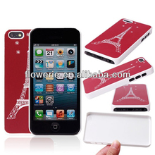 FL2534 2013 Guangzhou hot selling effiel tower pc case for iphone 5c