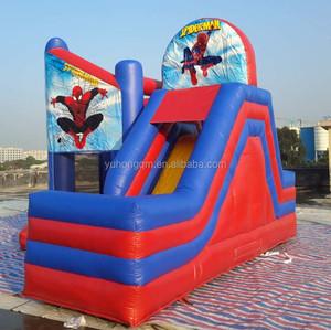 2016 migliore qualità SPIDERMAN gonfiabile castello gioco
