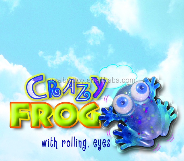 Squishy Eyes : Squishy Moving Eyes Rubber Frog Toy - Buy Rubber Frog Toy,Stretch Rubber Toy,Crazy Frog Toy ...