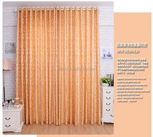 factory wholesale of polyester jacquard curtain, china curtain fabric