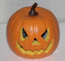 halloween decoration artificial foam pumpkin w/lace