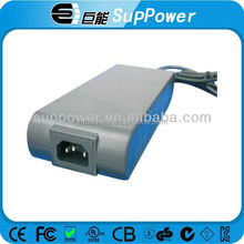 High rate 180w ac 30v 6a power adapter supply c6 c8 c14 connector