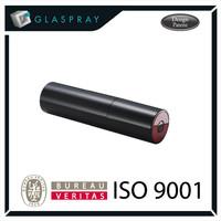 SOLE Soprano Shiny Black 30ml Refillable Cologne Atomizer