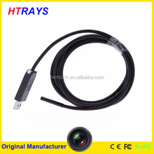 Professional 5.5mm 2M wire and cable usb industrial endoscopic video camera waterproof