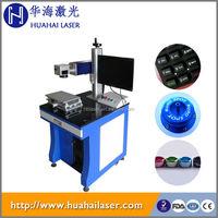 Fiber 20w laser marking machine business card printing machine