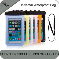 Universal Waterproof Mobile Phone Bag for iPhone 6 6plus 5 5s 5c 4 4s for Samsung for Sony