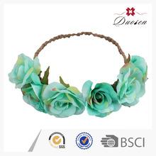 Eco-Friendly Hawaiian Bridal Artificial Flower Crown