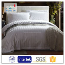 100% Cotton TC hotel bed linen fabric for bedding sets