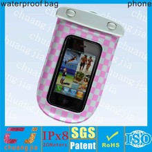 dongguan factory promotional Good quality Waterproof cover for smartphone with ABS+IPX8 certificate
