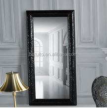 4mm large wall silver mirror factory with white color