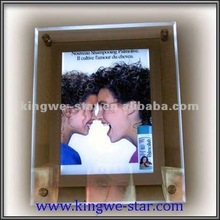 Crystal 2012 Acrylic Picture Frame Wooden Photo Frame